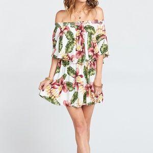 NWOT Show Me Your Mumu Casita Mini Dress